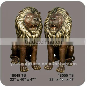 Bronze Lion Sculpture Bronze Animal Sculpture BAS-Q001W