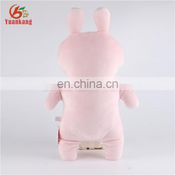 2017 New Design United States Custom Plush Soft Toys Standing Stuffed Rabbit Animal for Kids