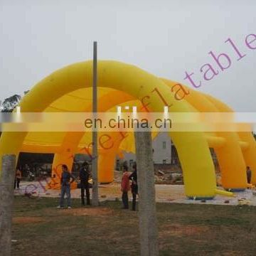Inflatable tunnel tent,inflatable arch tent T019