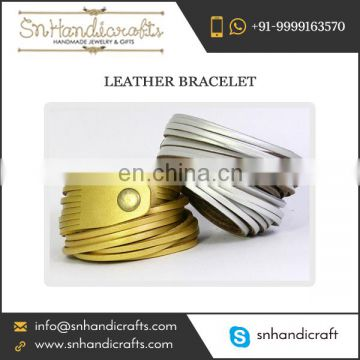 Exquisitely Designed Large Golden and Silver Bracelet for Bulk Buying from Famous Supplier of Industry