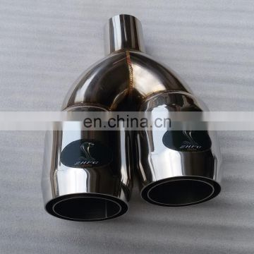 exhaust muffler tail pipe expande