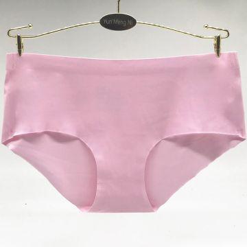 Yun Meng Ni Sexy Underwear Hot Sale Plain Colors Girls Briefs Panty Woman Seamless Sexy Underwear