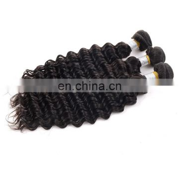 Grade 8A Deep Wave unprocessed cheap virgin indian hair