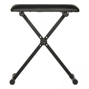 Wholesale musical instrument  leather folding adjustable piano stool  Keyboard bench Electronic organ stool