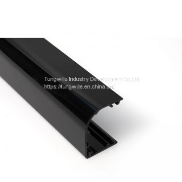 China supplier plastic extrusion profile PVC extrusion plastic channel extrusion