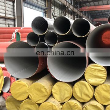 sch40s stainless steel welded large pipe tube aisi304