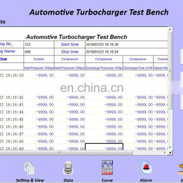 DT-3C Heating type auto electric turbocharger test bench