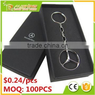 Wholesale cheap BMW car logo keychains on promotion for car brand metal keychains and car parts key chain