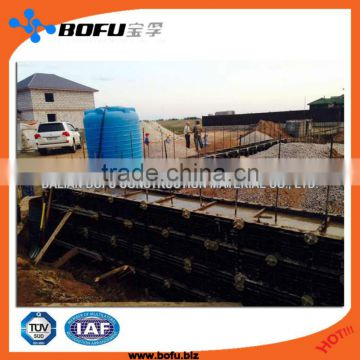 wall panels for concrete formwork