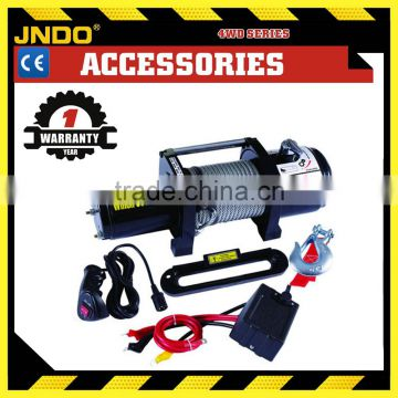 Recovery powerful 4*4 12V auto winch 8000lbs