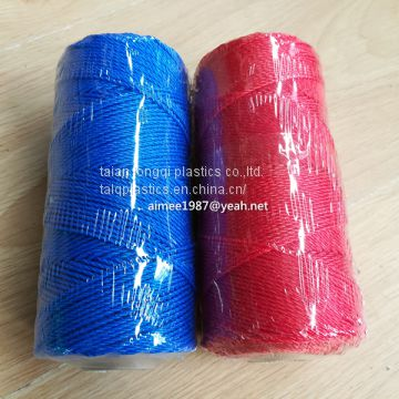 pe fishing twine 5 colors mixed 380d 30ply 60ply packet