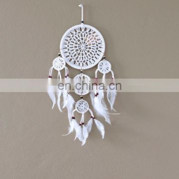 Crochet Dream Catcher White color