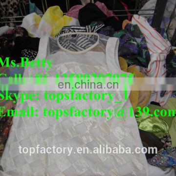 Fashion second hand clothing in bales wholesale used branded clothes