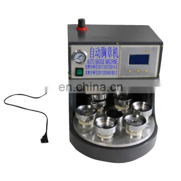 Full automatic metal button machine with high efficiency