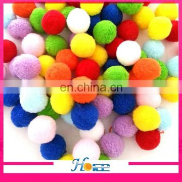 wholesale DIY accessories colorful yarn craft pom poms