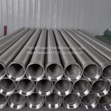 Stainless Steel 316 OD273 Water Well Screen with STC threads for water well drilling