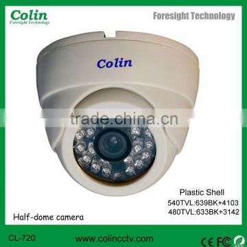 8 years manufacturer supply high quality Indoor dome IR CCTV cheap Camera