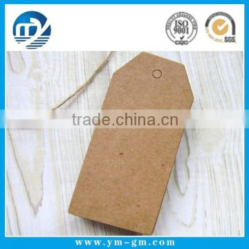 Blank paper hang tag manufacturers with your logo Quality