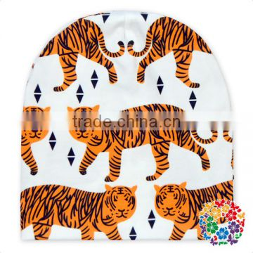 Custom Printed Tiger Toddlers Cheap Beanie Hat Animal Baby Beanie Hats