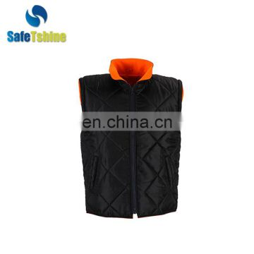 OEM service reflective fluorescent polyester orange reflect secur jacket