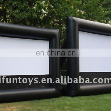 2012 Best inflatable movie projection
