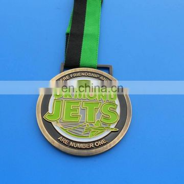 Ormond Jets Friendship And Fun Are Number One Ribbin Medal