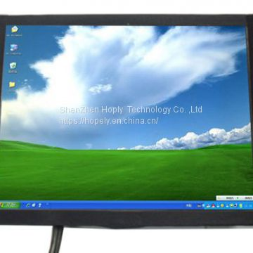 8 Inch Open Frame HL-808B Monitor with Touch Screeen for IPC Embedded Mini itx Car Pc