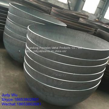 Hot selling 36'' steel half sphere for hollow ball
