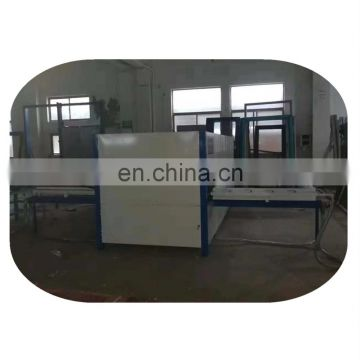 Wood texture transfer printing machine for doors
