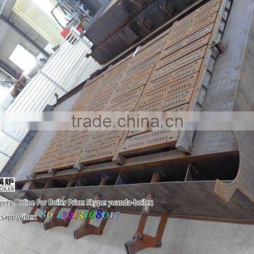 coal and wood fuel and Horizontal Style used firewood boiler