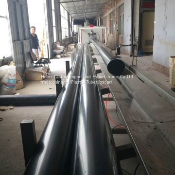 Competitive Price HDPE DN60mm Black Plastic Pipe for Water