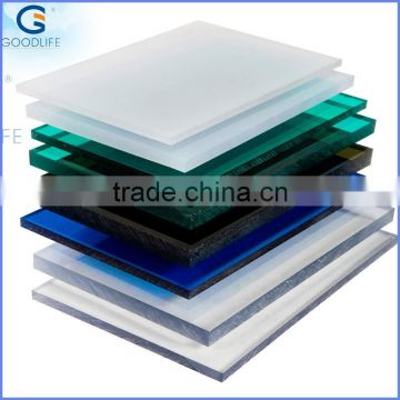 Best quality pc transparent roofing sheet for construction