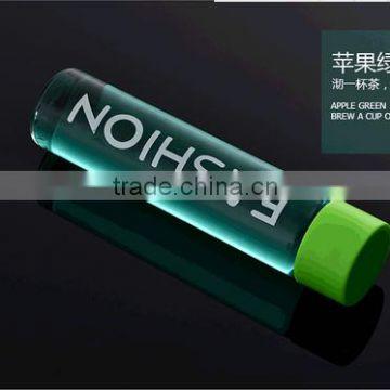 Promotional borosilicate water bottle, custom voss water