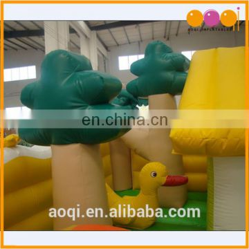 hot sale happy farm fun land inflatable jumping bouncer