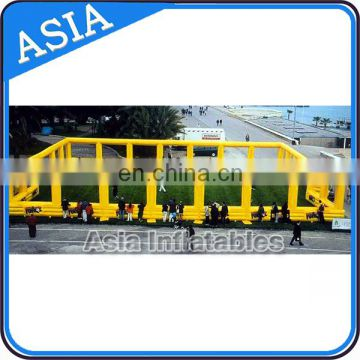 Inflatable Archery Games Bunker Layout For Bunker Arena / Paintball Field / Paintball Bunkers Set