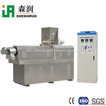 Automatic puffed corn snacks machine