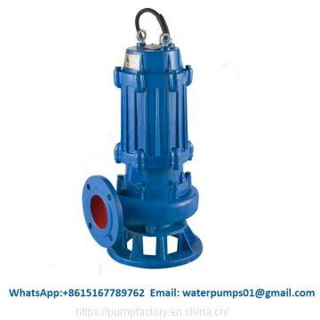High flow submersible dewatering pump centrifugal waste water pump