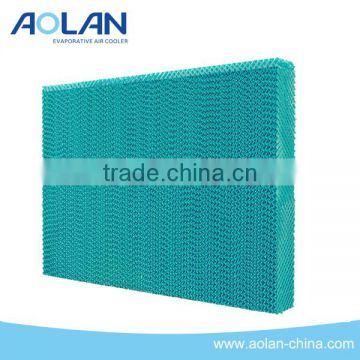 High Efficiency celdek pad/evaporative cooling pad for poultry farm/ plastic evaporative cooling pad