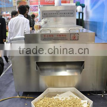 Industrial tunnel type peanut microwave dryer/nuts roaster /nuts baking machine