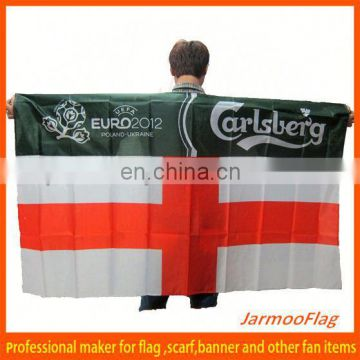 custom polyester body flag capes