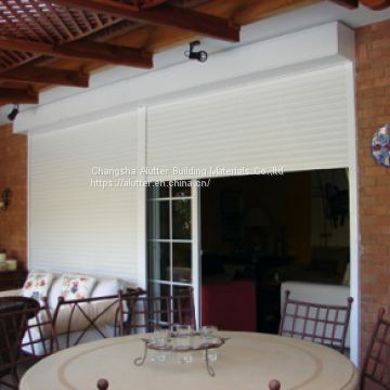 electric aluminum window and door roller shutter for interior and exterior use
