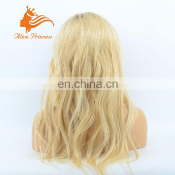 2017 New Style, 613 Human Hair Full Lace Wig Long Loose Wave Indian Virgin Hair Wigs