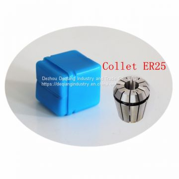 Collet ER25 package plastic tool box small tool box protective storage 26mm(D) * 33mm(H)