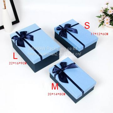 Customized large luxury packaging gift box