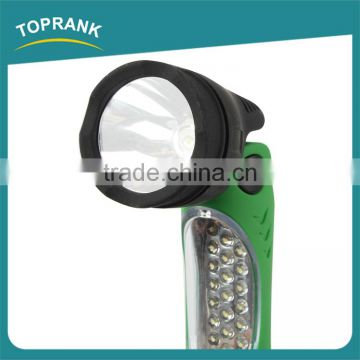 High quality portable flexible strong light battery high power led torch light