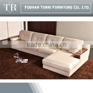 high quality italian geniune leather corner sofa , white leather sofa