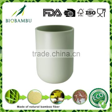 Pretty design Endurable Eco-friendly bamboo fiber cup with low price