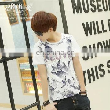 Peijiaxin Fashion Design Casul Style High Quality Cotton Collar Tshirt Design