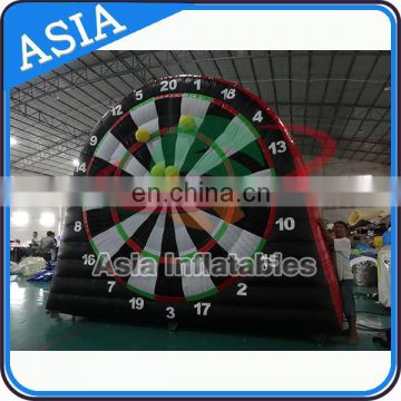 Funny games inflatable dart board / soccer darts game for outdoor