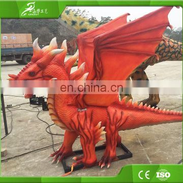 KAWAH China manufacturer Outdoor Amusement park Animatronic Animation Dinosaur